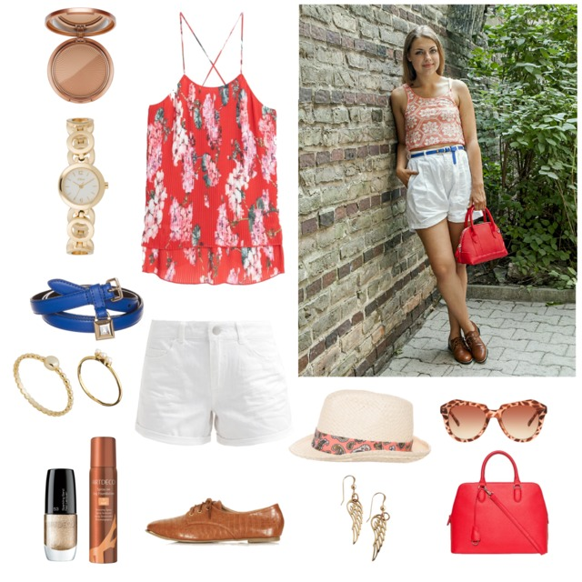 be in app styling fashion board collage inspiration post