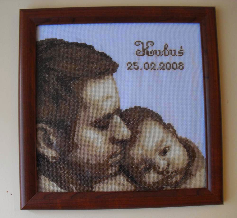 Metryczka - tata i syn