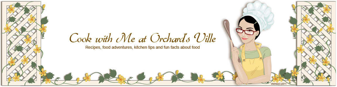 Meals Online Recipes at Cook with me at Orchard's Ville