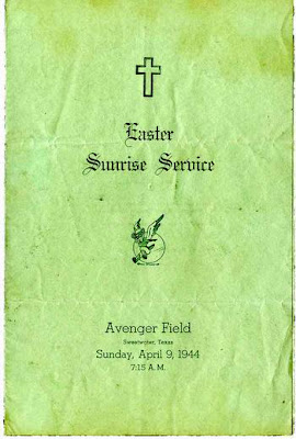 EASTER SUNRISE SERVICE PROGRAM, 1944