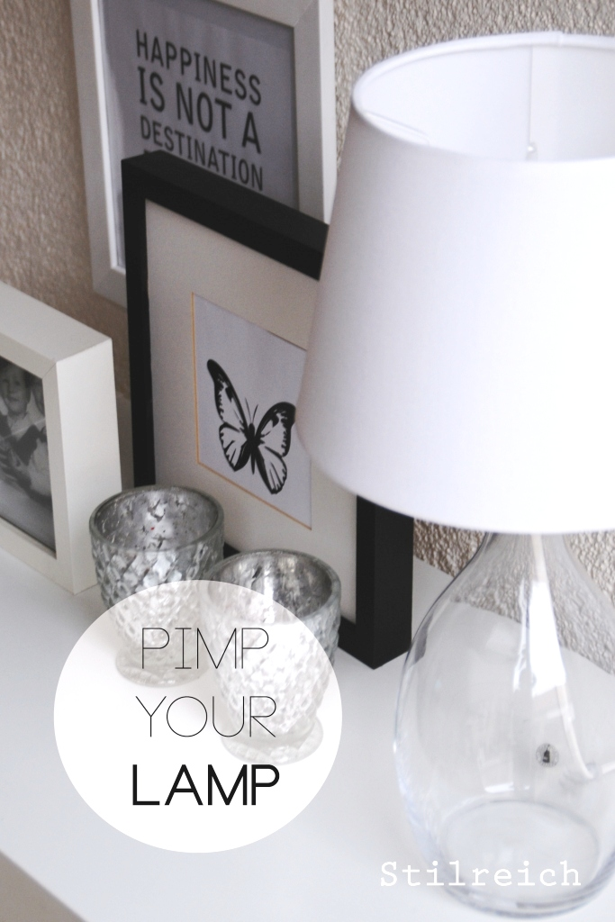 diy pimp your ikea lamp s t i l r e i c h blog. Black Bedroom Furniture Sets. Home Design Ideas