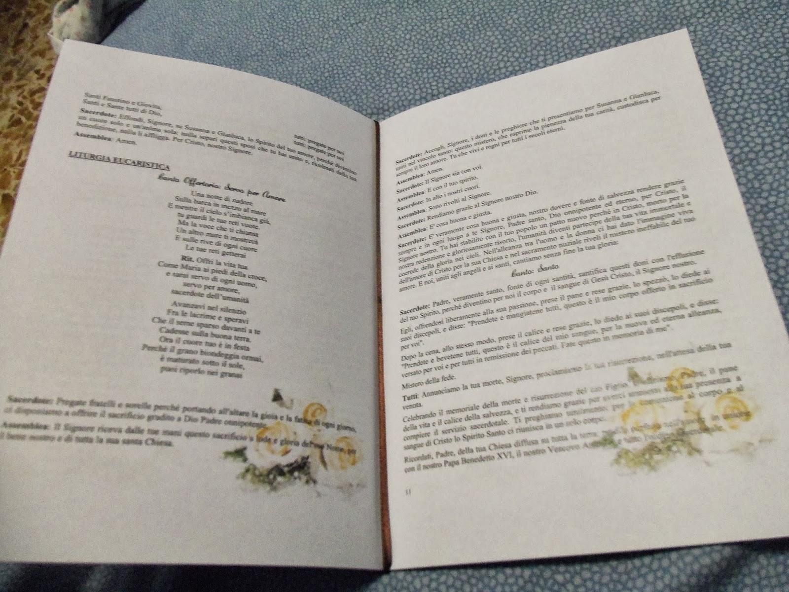 Matrimonio Simbolico Libretto : Decorazioni libretto matrimonio migliore collezione