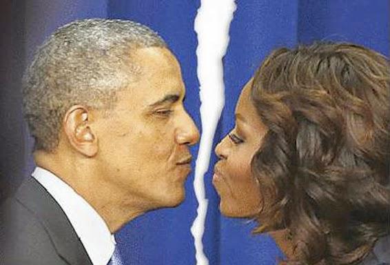 Benarkah gara-gara Foto selfie Presiden Obama Bercerai dengan Michelle Obama
