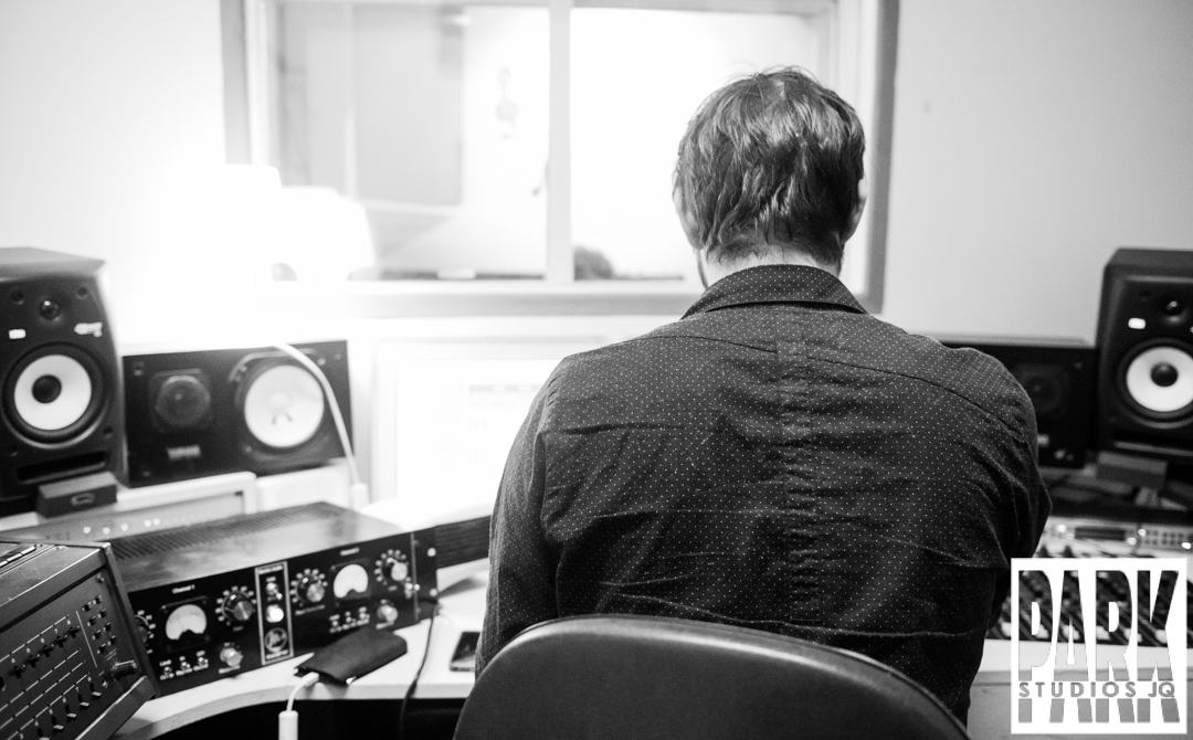 Birmingham recording studio Park Studios JQ | recording guitar