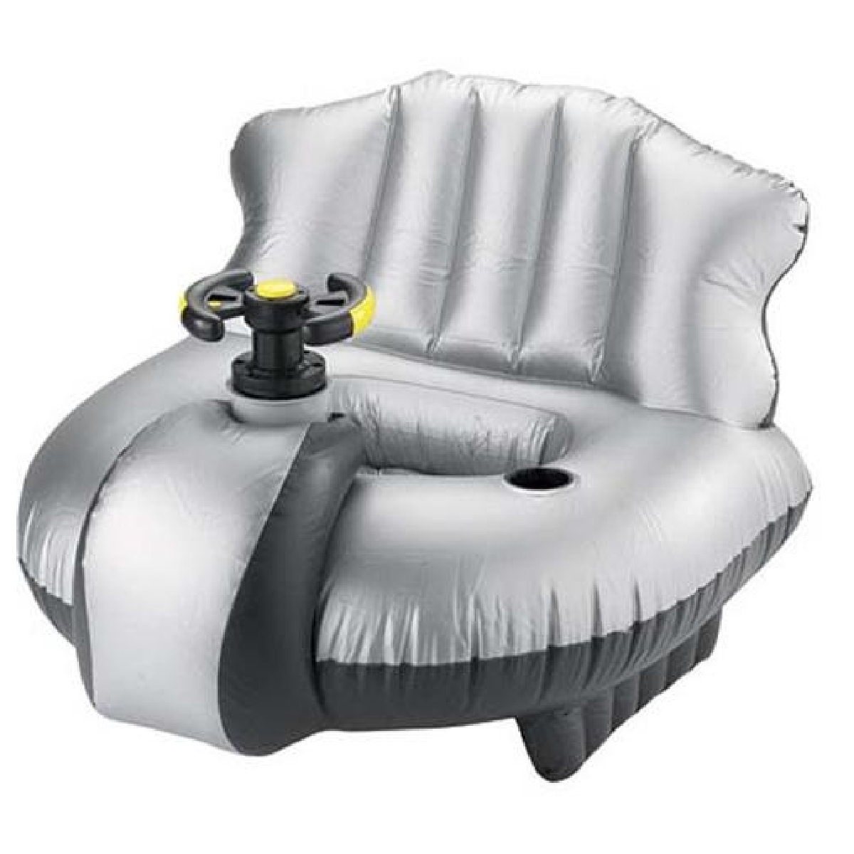 un fauteuil gonflable flottant motorise