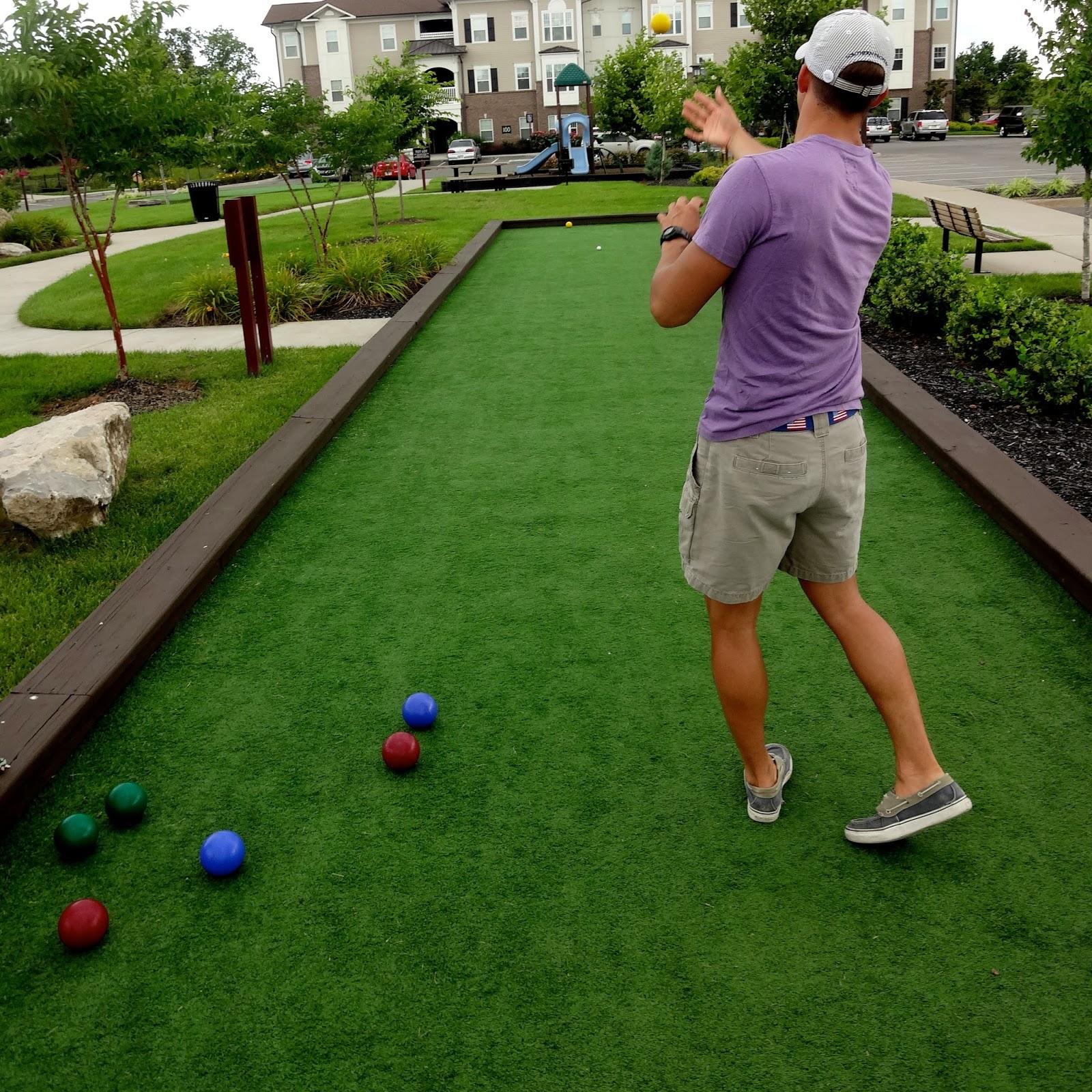 Awesome Backyard Bocce Ball Court
