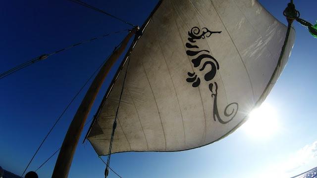 dhow sailing Mafia island Tanzania