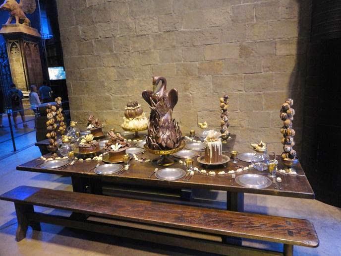 As comidas de Hogwarts - Visitando os Estúdios de Harry Potter em Londres