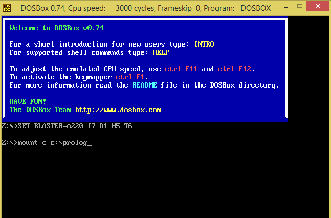 Programming Passion Prolog Programming Dosbox Turbo