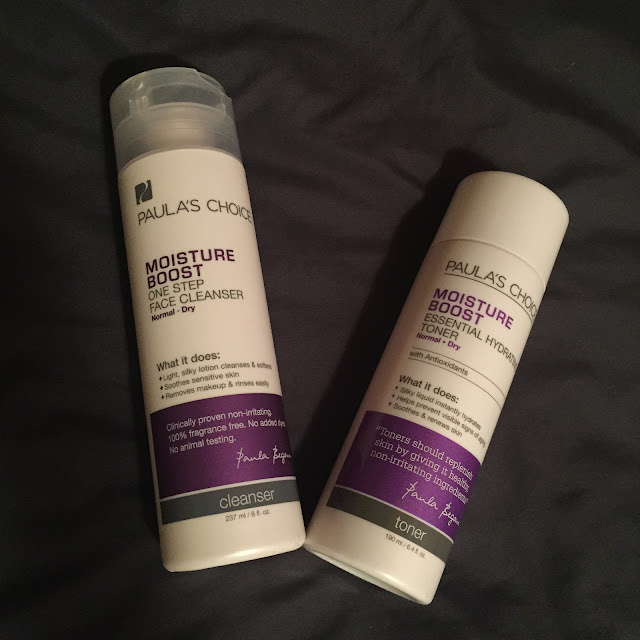 Paula's Choice, Paula's Choice skincare empties, PRIMP, Pretty in My Pocket, sponsored post, Paula's Choice Moisture Boost One Step Face Cleanser, Paula's Choice Moisture Boost Essential Hydrating Toner