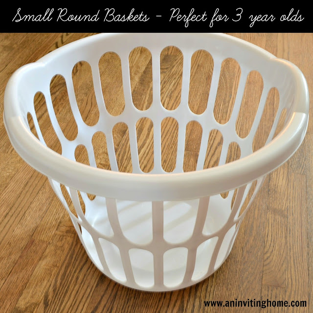 laundry baskets for three year olds