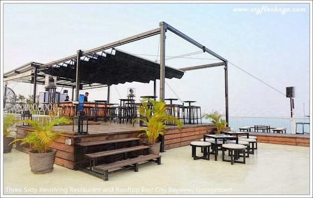 槟城美食与自助餐 | Three Sixty 高空中的餐厅和酒吧 @ City Bayview Hotel Georgetown