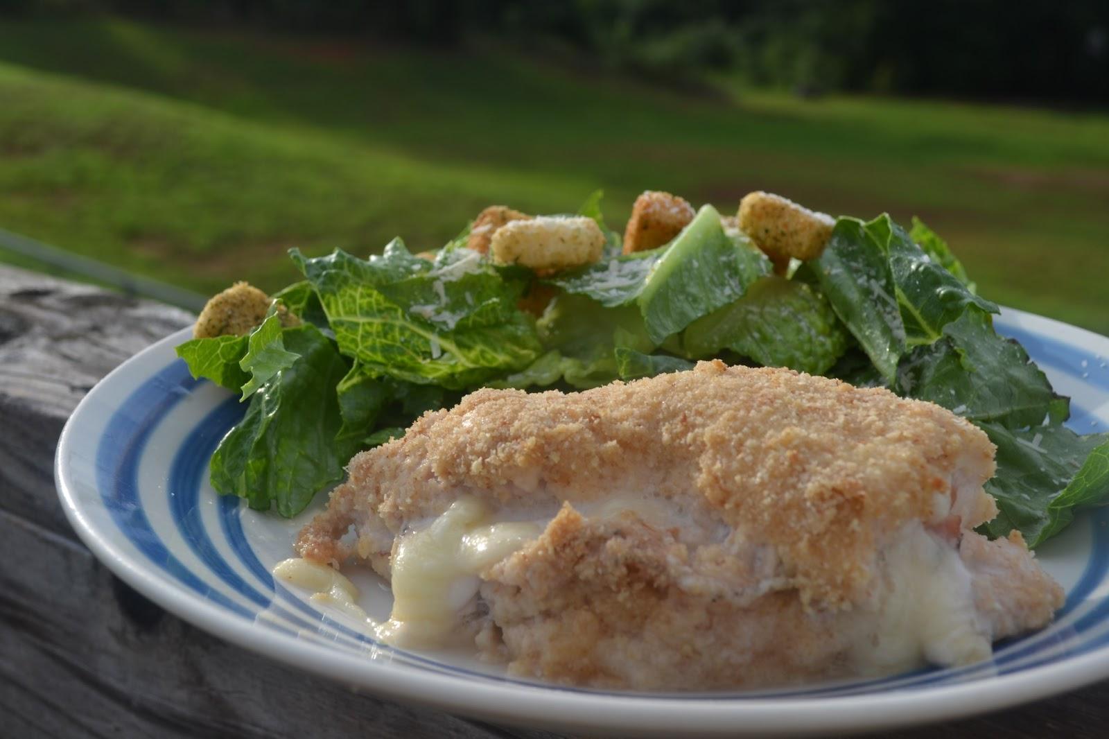 Easy and Delicious Baked Chicken Cordon Bleu