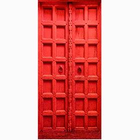 vinilo puerta roja leroy merlin