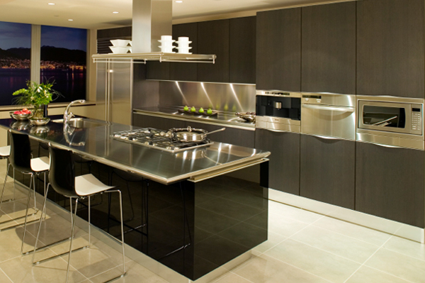 Magnificent Modern Kitchen Stainless Steel 600 x 399 · 176 kB · jpeg