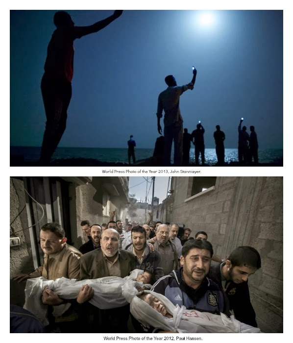 World Press Photo of the Year John Stanmayer y Paul Hansen.