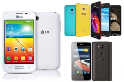 Adu Kemampuan Ponsel Rp1 Juta-an, ASUS Zenfone 4 vs Acer Liquid Z4 vs LG L40