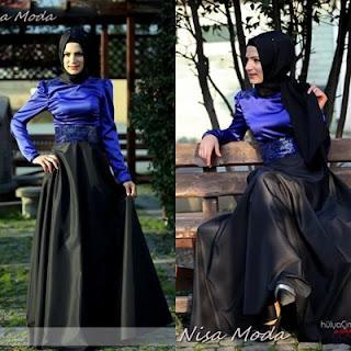 nisa moda 2014 tesett%C3%BCr Elbise modelleri61 nisamoda 2014, 2013 2014 sonbahar kış nisamoda tesettür elbise modelleri