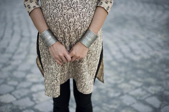 Skinny Buddha Indian shirt