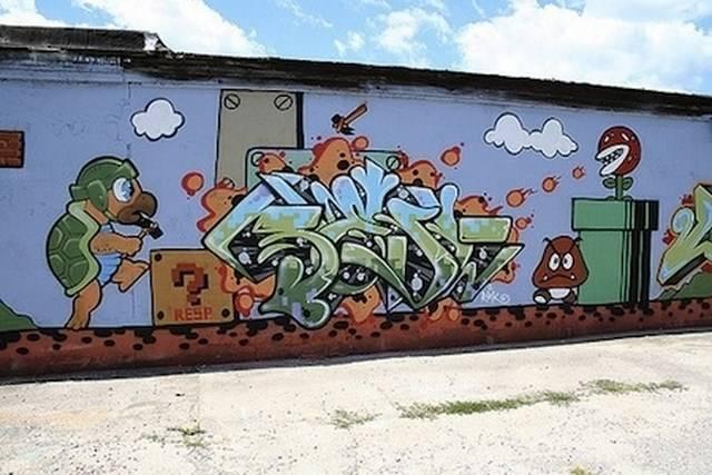 Graffiti: Street Arts Of Super Mario Bros