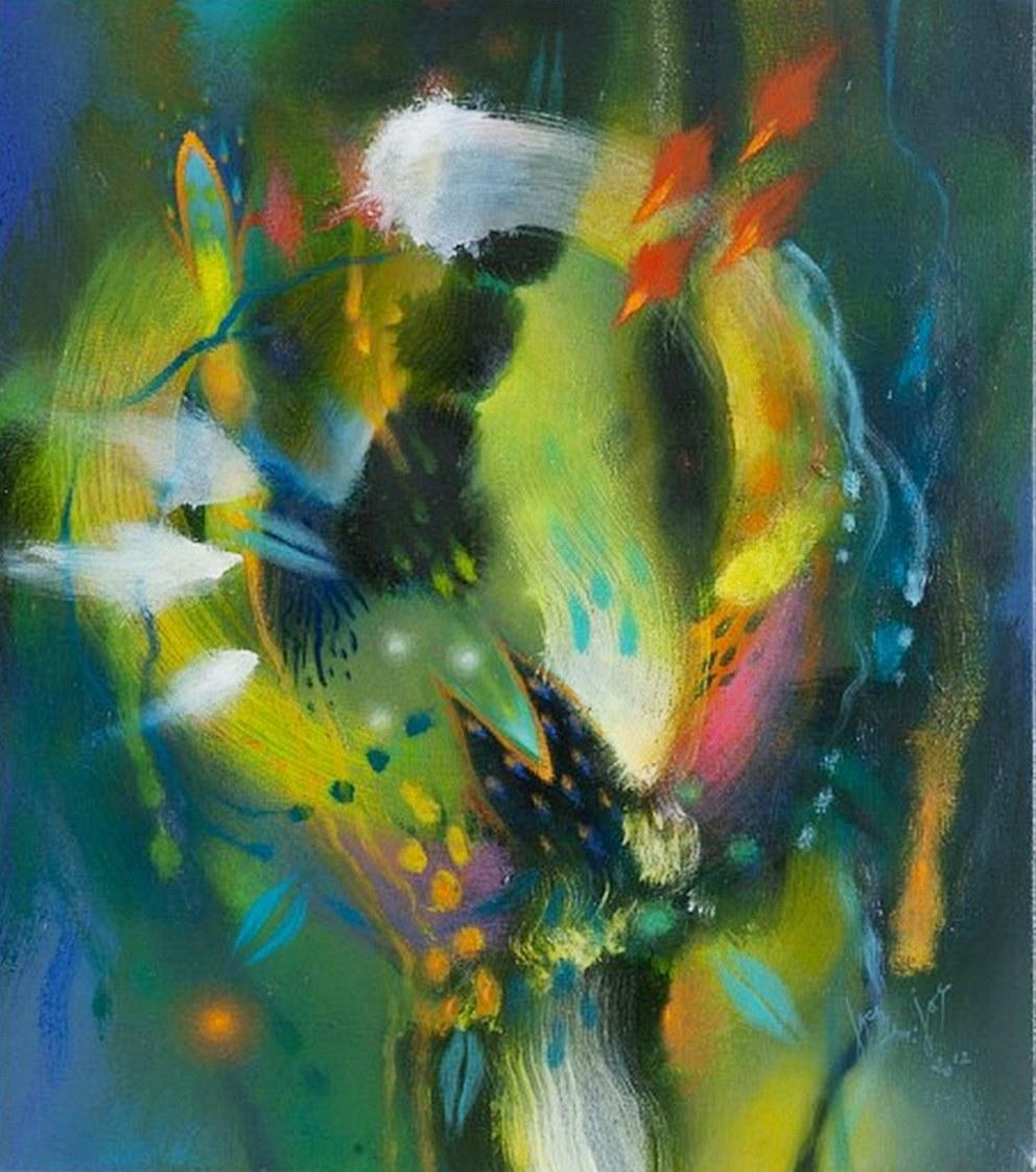 Cuadros pinturas oleos pintura al leo abstracto for Fotos de cuadros abstractos minimalistas