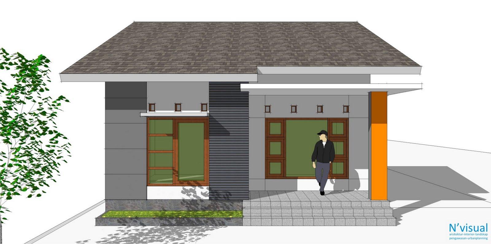Desain Rumah Minimalis Modern Gambar Model Rumah Sederhana