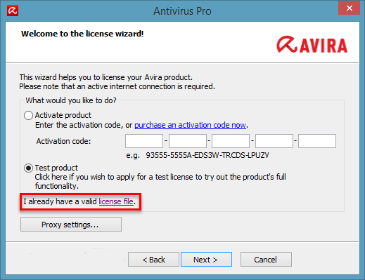 Avira Antivirus Pro 2015 License File Till 2020 - Cyber ...