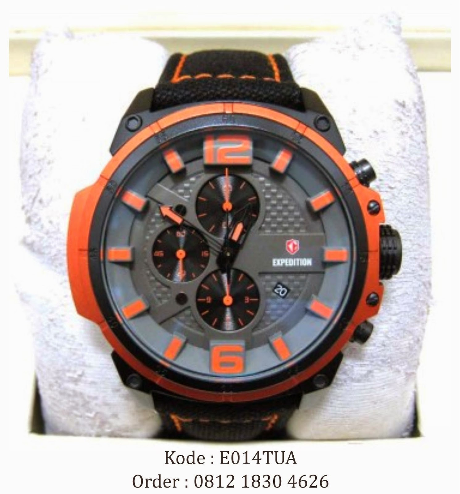 0812 1830 4626 | Jual Jam Tangan Expedition 6622 Orange