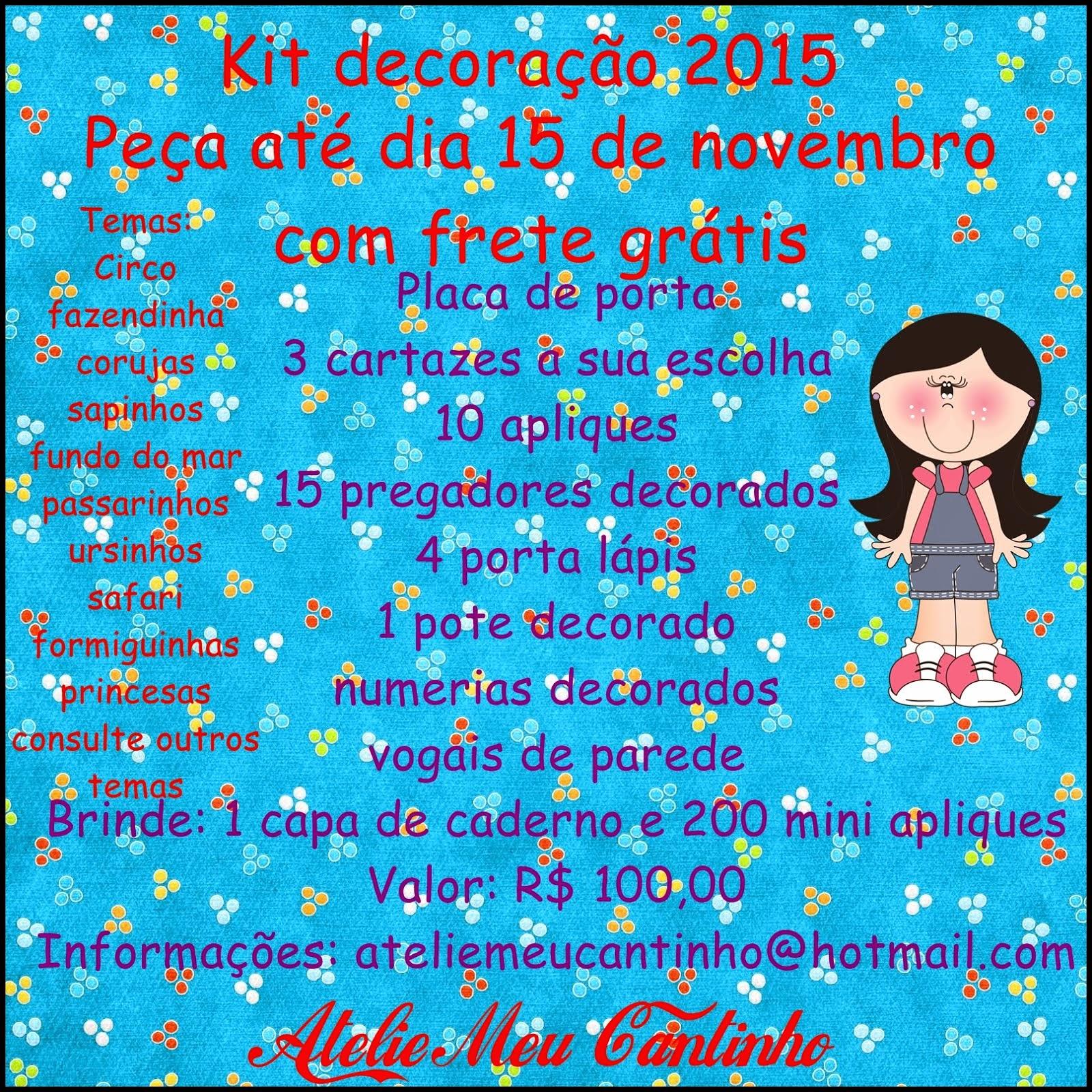 Kit promocional 2015