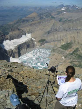 Grinnell Glacier being monitored by USGS