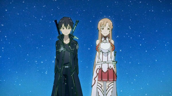 Kirito and Asuna (Sword Art Online)