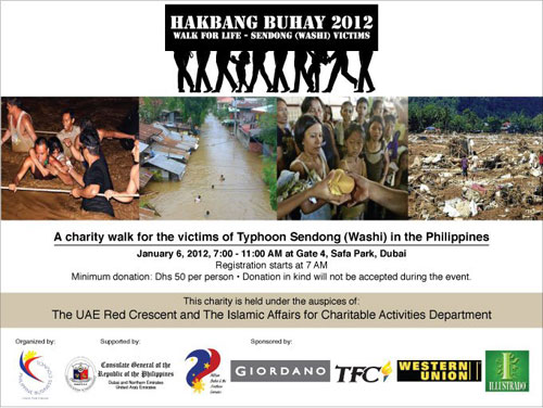 Dubai: Help Typhoon Victims in the Philippines