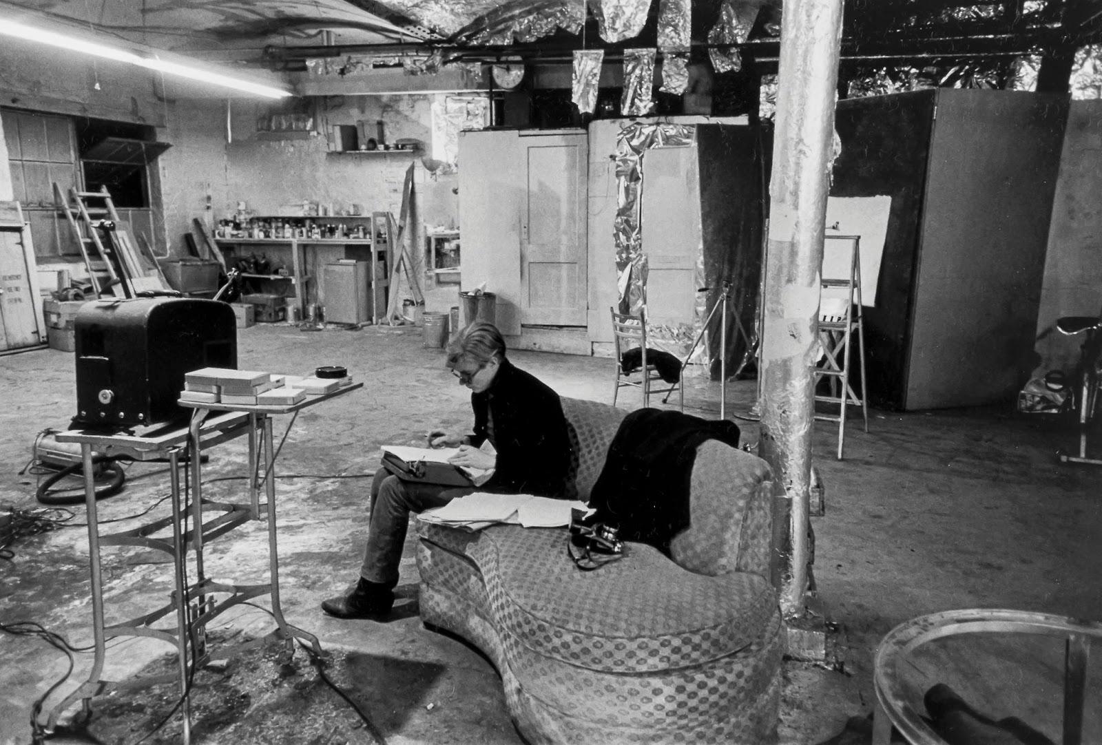 Andy Warhol en The Factory