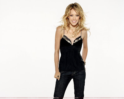 Hilary Duff Wide Screen Wallpaper