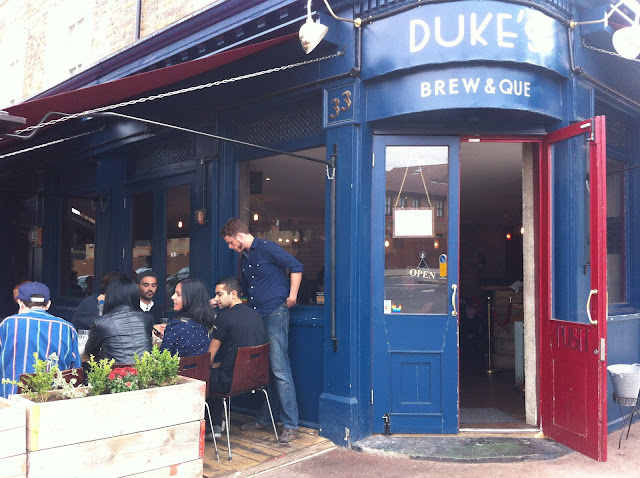 Dukes Brew and Que Hoxton American BBQ review