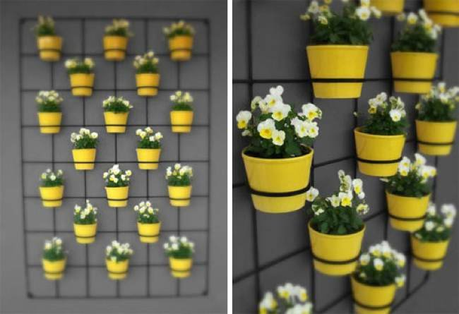 Maceteros verticales jardines verticales y cubiertas - Jardin vertical terraza ...