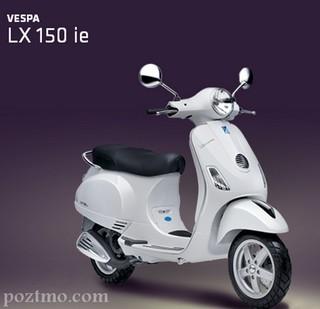 harga - spesifikasi Piaggio Vespa LX 150 ie