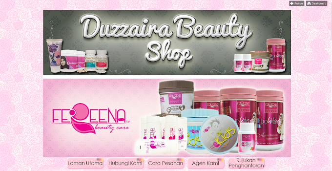 Tempahan Design Blog: Duzzaira Beauty Shop