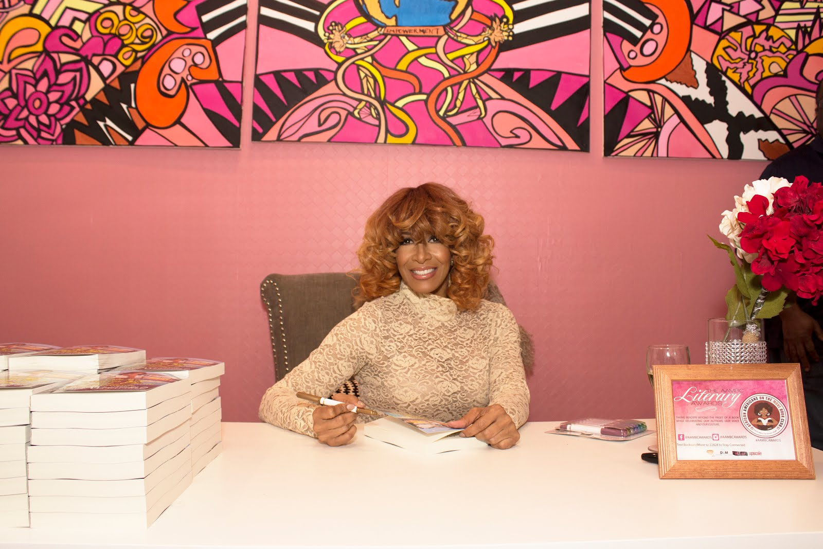 Sheree Book Signing