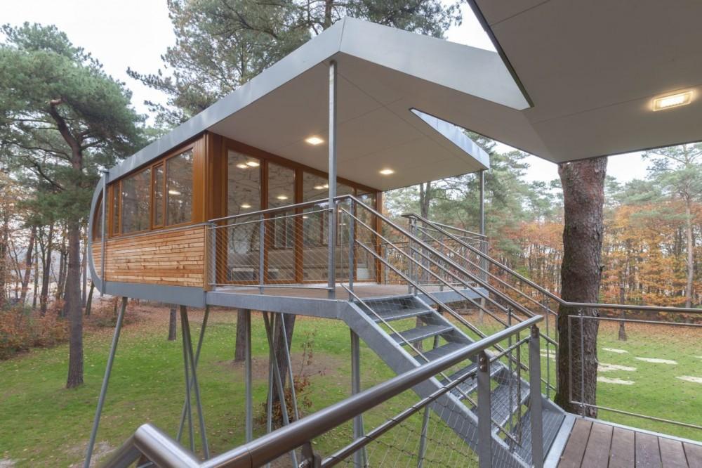 la firma alemana baumraum del arquitecto andreas wenning se ha en el diseo y construccin de casas de rbol para adultos y pequeos