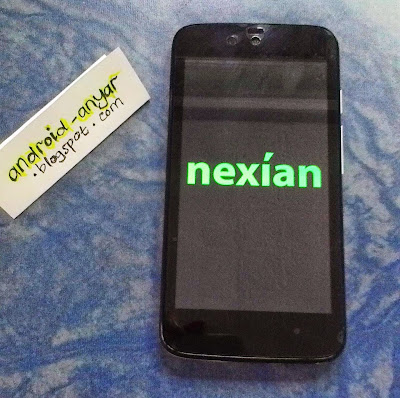 First booting Nexian Journey 1 AndroidOne