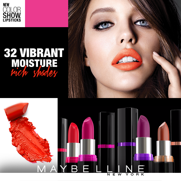 Maybelline New York's Color Show Lip Colors