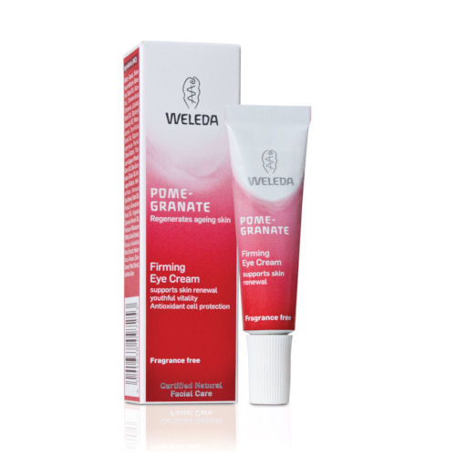 weleda eye cream review, weleda pomegranate eye review, best eye cream, hydrating eye cream,