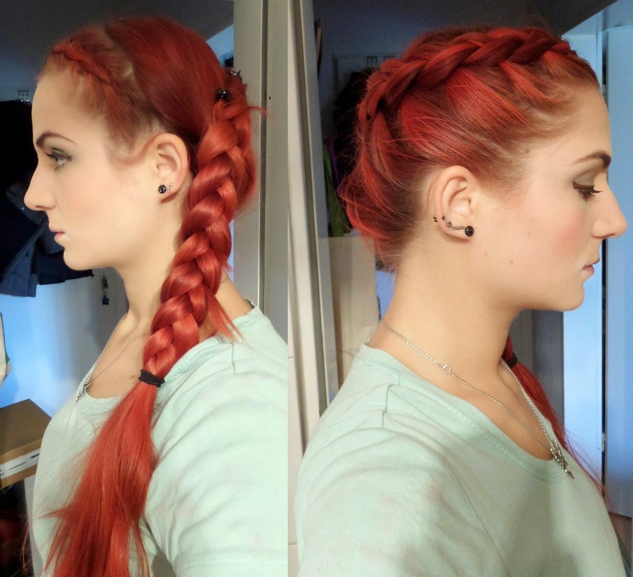 [Mädchenkram] Haare - Sonntagsfrisur #6
