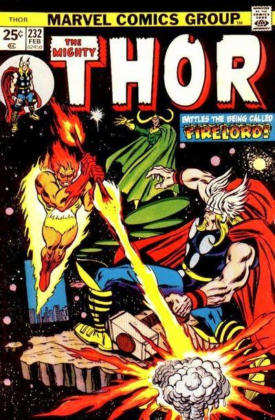 Thor #232, Firelord