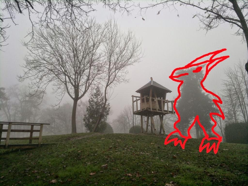 Alergare pe un tărâm magic. Parcul Copiilor din Timişoara. Gardian