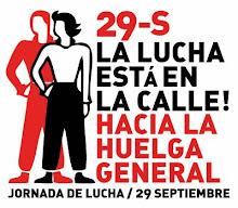 29-S Jornada de lucha, hacia la huelga general