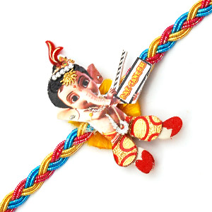 Bal Ganesh Rakhi 