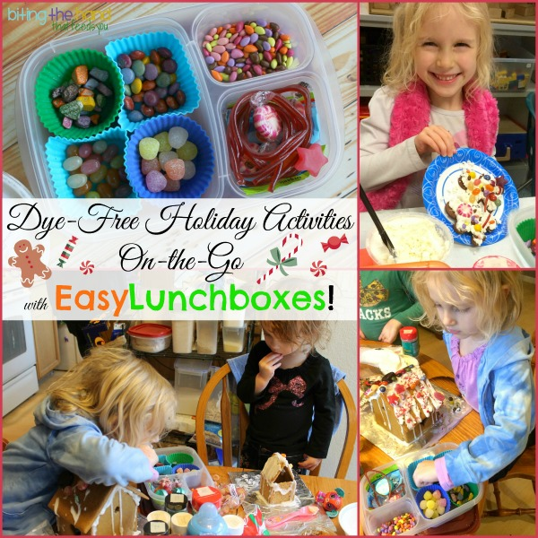 Dye-free (and gluten-free!) holiday cookie and gingerbread house decorating party solutions!