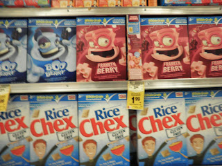 cereali americani halloween horror supermarket